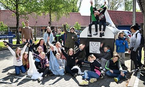 21 05 26 Nieuws Twentse scholen strijden tegen textielafval 585x350px